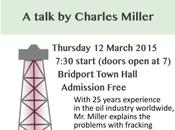Fracking Better Energy Solutions Talk Bridport Dorset, 12th March