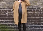 Round Belly Cocoon Coat