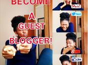 Become Guest Blogger!