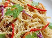 Peanut Noodles (Vegetarian)