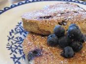 Healthy Blueberry Bran Pancakes