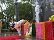 Shri Narendra Modiji Pays Homage IPKF Memorial When Rajiv Attacked