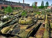 Russian Tank Graveyard Found Young with Camera