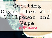 Quitting Cigarettes With Willpower Vape