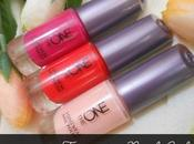 Summer Favorite Nail Colors with Oriflame Long Wear Fuchsia Allure, London Red, Ballerina Rose