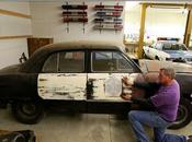 Rare Survivor, 1949 Ford State Patrol Found Stored Since '54, Getting Restored Seattle Police Museum
