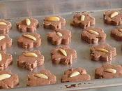 Chocolate Almond (cokdam) Cookies