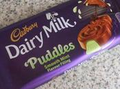 NEW! Cadbury Dairy Milk Puddles: Smooth Mint Hazelnut