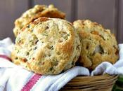 Caramelized Onion Biscuits with Indian Flavors