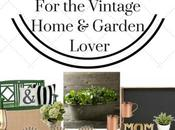 Mother's Gifts Vintage Home Garden Lover