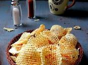 Make Dried Potato Chip Aloo Chips