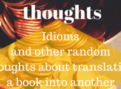 Thoughts Translating Novels: Idioms Pop-Culture Refrences