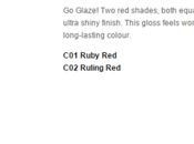 [Review] Catrice Lala Berlin's High Gloss Glaze #CO1 Ruby