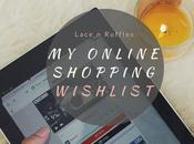 #CurrentlyObsessed: Online Shopping Wishlist Pitchi