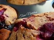 Raspberry Bakewell Choc Chunk Muffins