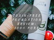 Toxin-free Beauty Reviews: 100% Pure Fruit Pigmented Sheer Water Foundation