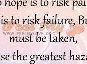 Take That Risk