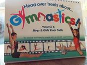 Head Over Heels About Gymnastics Book