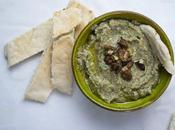 Black Eyed Peas, Walnut Spinach Hummus