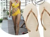 Havaianas Flip-Flop Designed Shivan Narresh Slim Metal Mesh Hardware