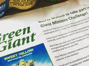 #GreenGiantMinions Challenge: Coconutty Corn Minion Cake