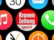 Apple Watch Sport from Austria's Kronen Zeitung