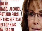 Bristol Palin Preggers Outside Wedlock, AGAIN Sarah Says Obama's Fault?