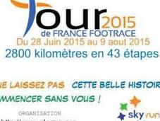 Tour France Footrace 2015