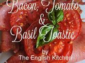 Bacon, Tomato Basil Toastie