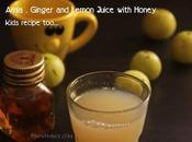 Amla,Ginger Lemon Juice with Honey Kids