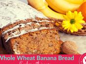 Whole Wheat Banana Bread Recipe with Jaggery Kids