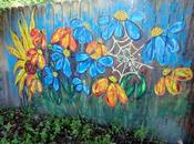 Outside Art: Painted Fence Update