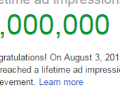 Thank Visitors Google AdSense Achievement