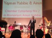 Ananda Sukarlan's Chamber Symphony Orchestra Tribute Ainun Habibie
