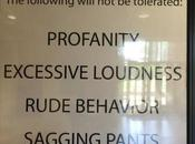 College Accused Racism Hanging No-tolerance Sign Against 'sagging Pants'