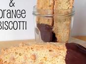 Chocolate Dipped Almond Orange Biscotti: GBBO Week