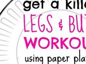 Killer Butt Legs Workout Using Paper Plates