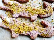 Sour Cherry Pistachio Crocodile Biscuits
