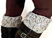 Ridiculously Easy Sweater Boot Cuffs