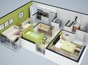 Create Detailed Floorplan Architectural Visualization