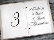 Three Wedding Guest Book Alternatives