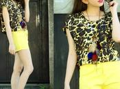 Look 295: Yellow Animal
