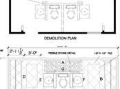 Master Bath Renovation –The Floor Plan