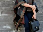 Look Day: Plaid Blanket Cape