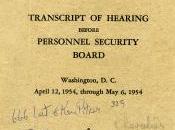 Oppenheimer Trial