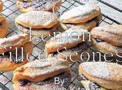 Blueberry Lemon Filled Scones