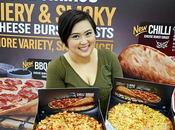 Domino's Pizza Cheese Burst Crust Pizzas Bursting With Fiery Smoky Cheesy-ness