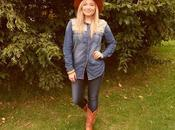 Customise Your Denim Shirt Western Meets 1970's Next Blogger Network Competition