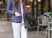 Tweed With Side Fringe