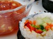 Homemade Vegan Sushi Rolls